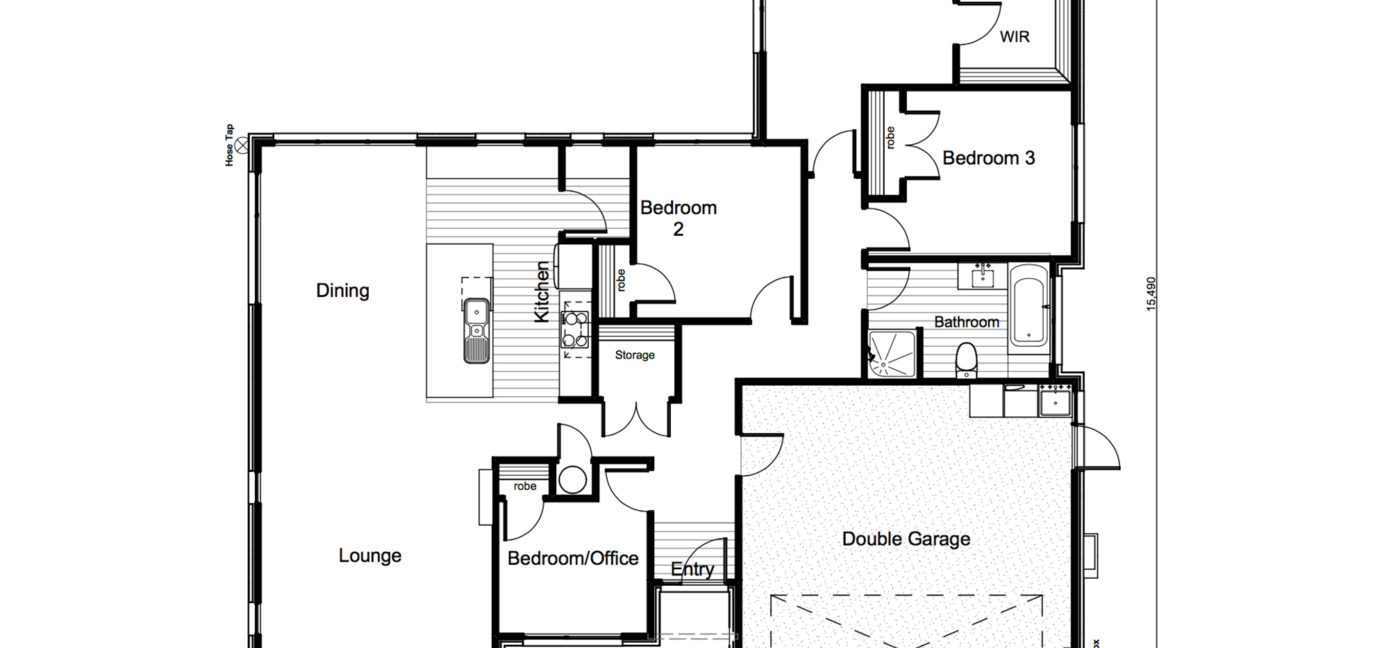 8 Hosta Lane Floor Plan