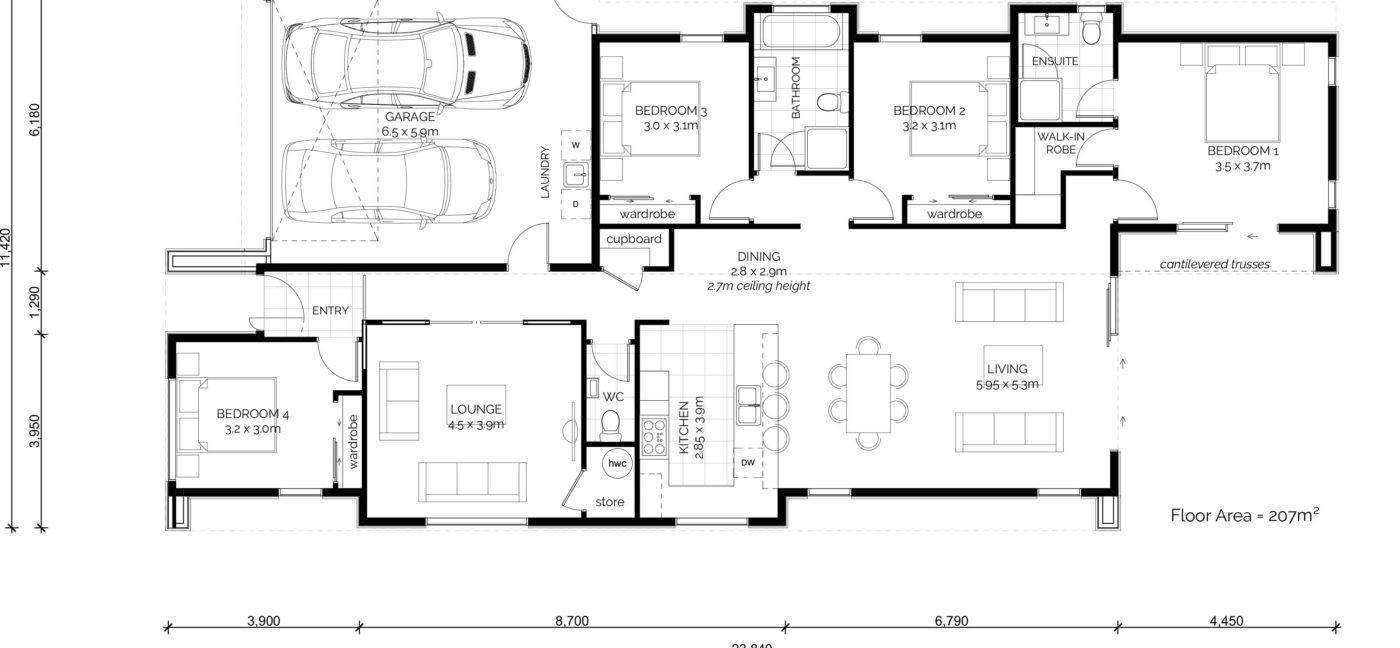 Aspiring Floorplan