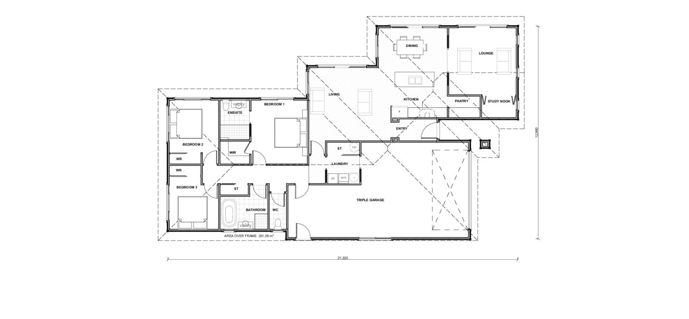Bahama Floorplan
