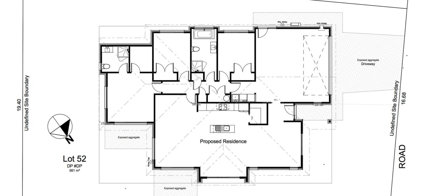Lot 52 Plan And Section