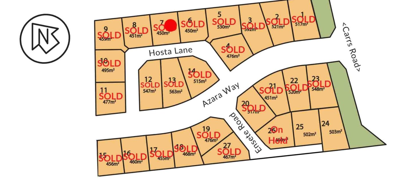 Subdivision Plan 7 8 Hosta