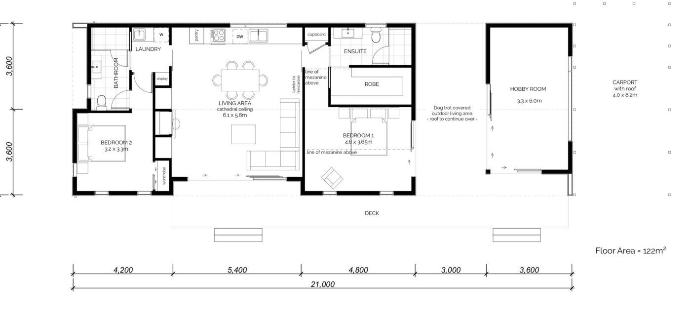 Tutoko Floorplan