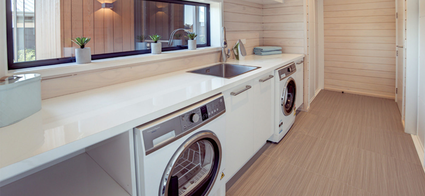 Fraemohs Lincoln Showhome Laundry