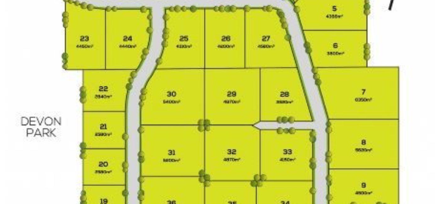 Il 4215 Coles Field Subdivision Map