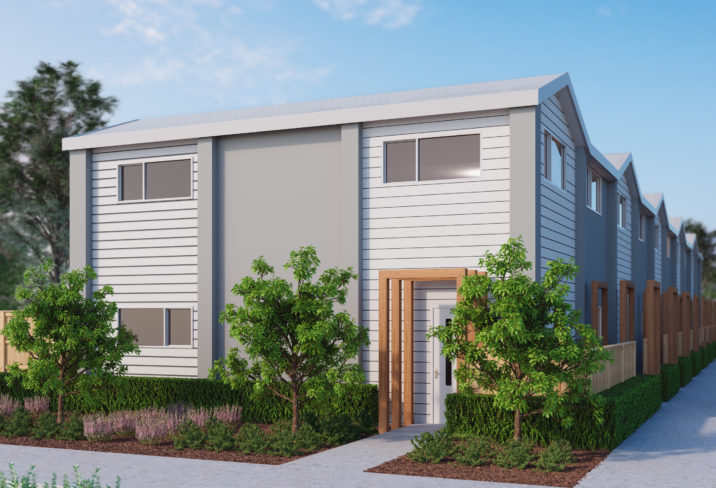 Image Exterior Render 295 Armagh Street