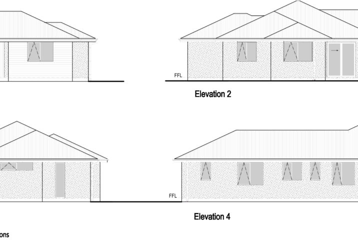 Kakariki Elevations